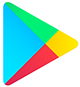 logo of the Google Play Store, where all Prosults Studio apps can be downloaded