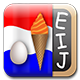 logo of the Dutch Ei-Ij spelling app from Prosults Studio