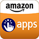 amazon app store logo fuer Android apps von Prosults Studio